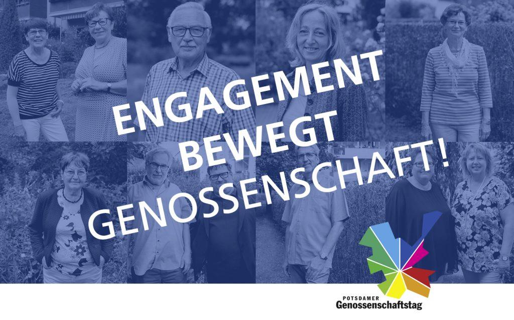 Der Potsdamer Genossenschaftstag - Engagement bewegt Genossenschaft!