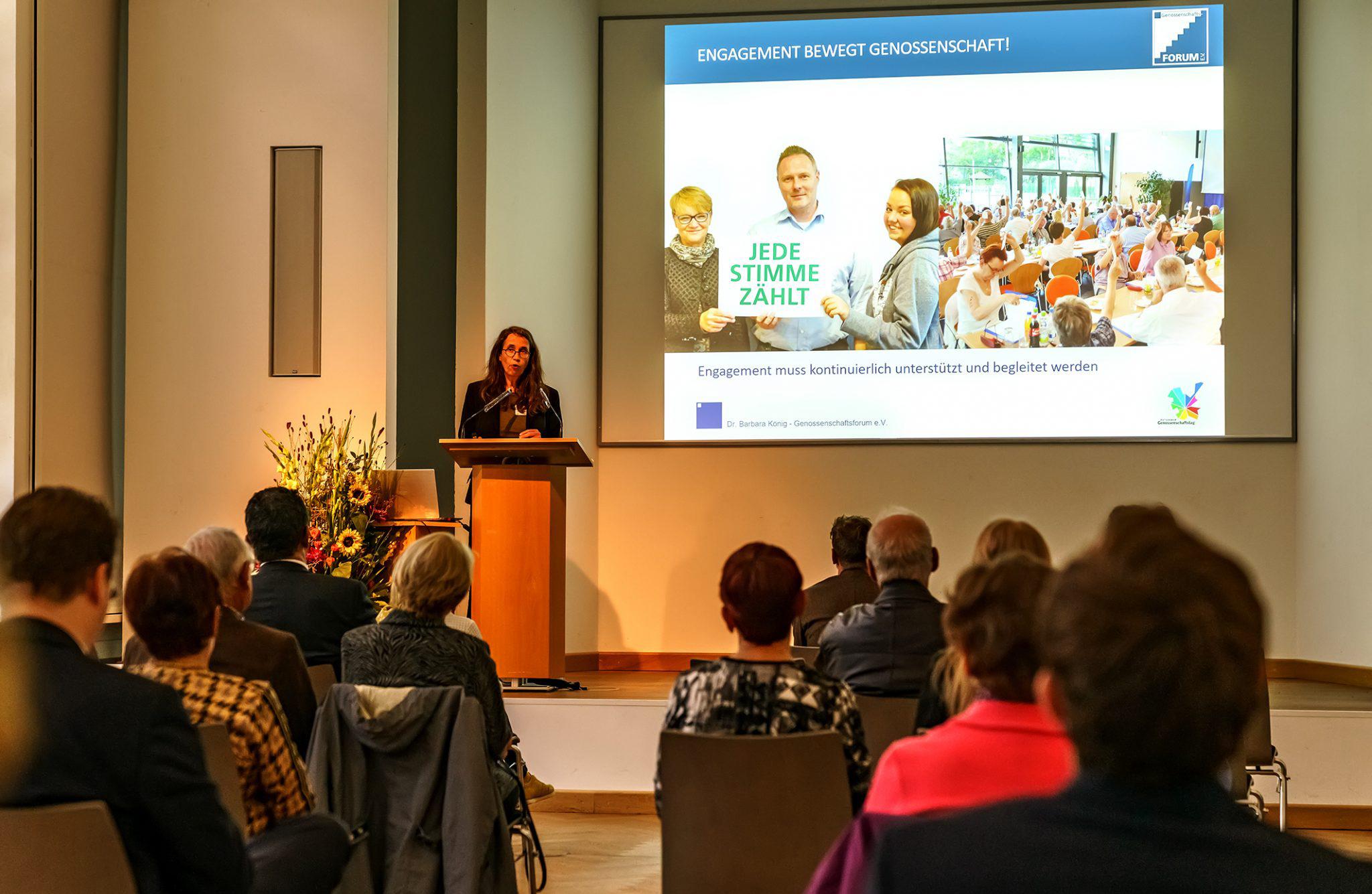 Keynote Dr. Barbara König, Genossenschaftsforum e.V.