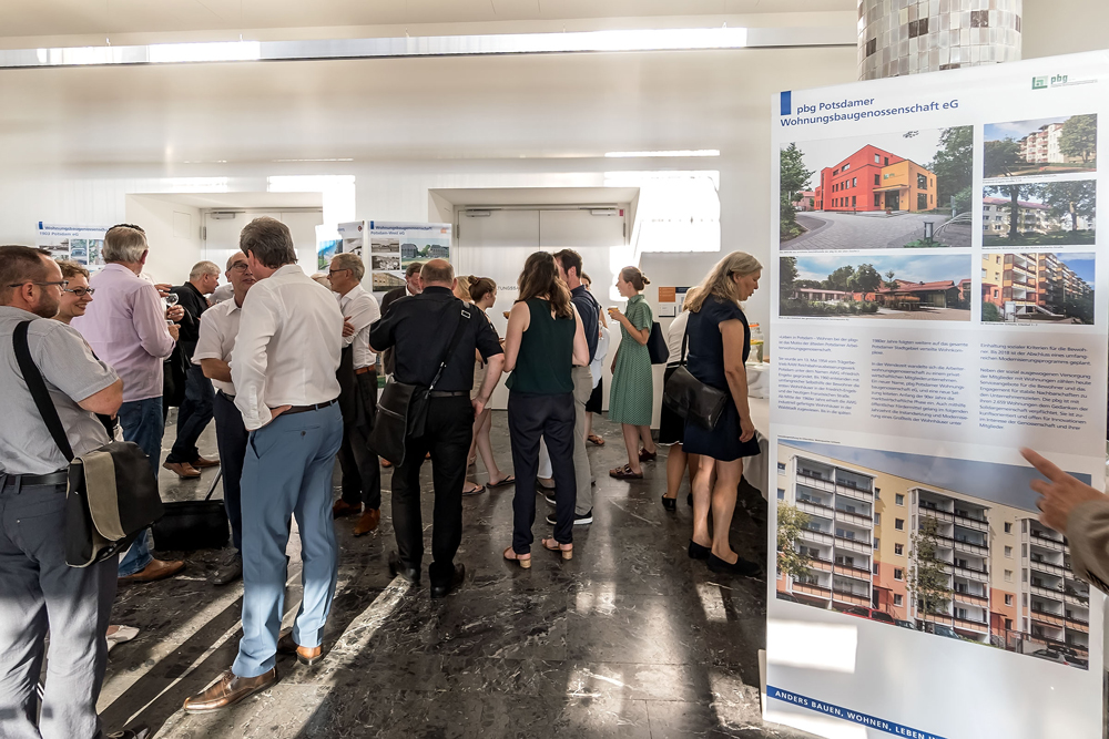 Begleitetende Ausstellung der Potsdamer Wohnungsbaugenossenschaften